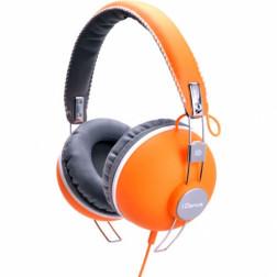 iDance HIPSTER 704 lifestyle retro ακουστικά σε πορτοκαλί χρώμα