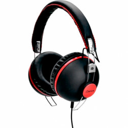 iDance HIPSTER 706 lifestyle retro ακουστικά σε μαύρο χρώμα