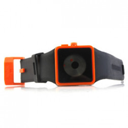 Orange pop digital watch