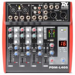 POWER DYNAMICS PDM-L405 Κονσόλα 'Ηχου 4 Καναλιών με USB / MP3
