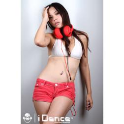 iDance SDj 750 ακουστικά σε κόκκινο χρώμα