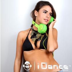 iDance SDj 950 ακουστικά σε πράσινο χρώμα