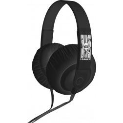iDance SDj 450 ακουστικά σε μαύρο χρώμα