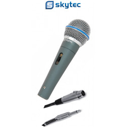 Skytec 173.460 Δυναμικό Unidirectional Μικρόφωνο με διακόπτη
