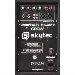 "SkyTec Ολοκληρωμένο Σέτ Ήχου με Βάσεις και Καλώδια για Πάρτυ και Εκδηλώσεις που περιλαμβάνει Subwoofer και δύο 10"" ηχεία"