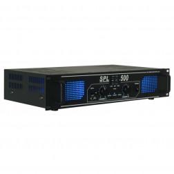 Skytec SPL-500 Amplifier 2x250 Watt με Equalizer
