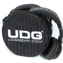 UDG Headphone bag black stripe
