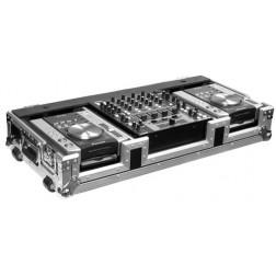 "Flightcase 2 Pioneer CDJ 200/400/350 και 12"" mixer"