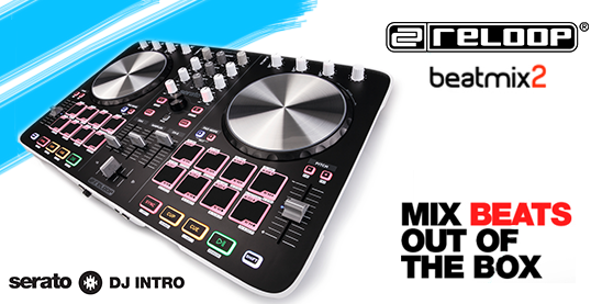Reloop Serato Beatmix2 dj controller