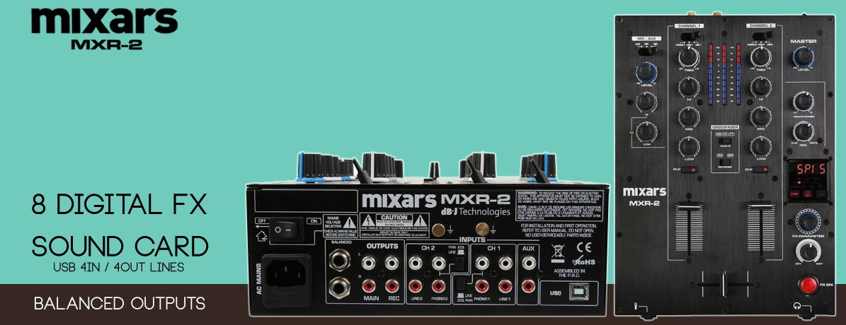 Mixars μίκτης με κάρτα ήχου