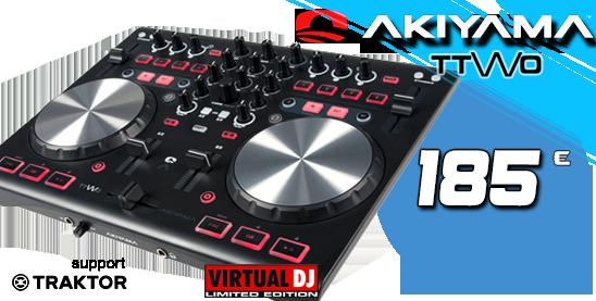 Akiyama ttwo virtual dj controller