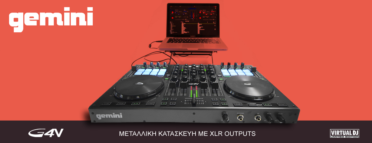 Gemini Virtual DJ Traktor controller
