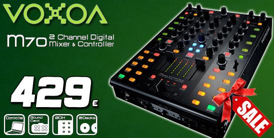 M70 digital mixer