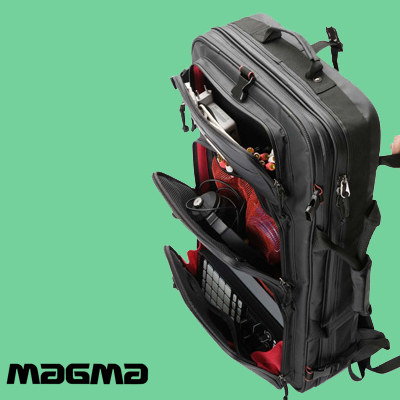 Magma DJ bags cases