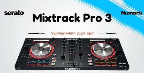 Numark mixtrack pro3, mixtrack pro3, mixtrack