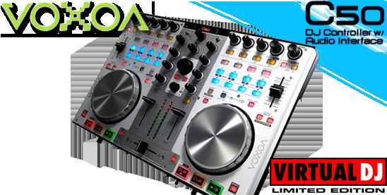 Virtual DJ Audio Video Controller