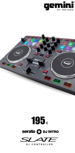 Serato DJ controller Gemini