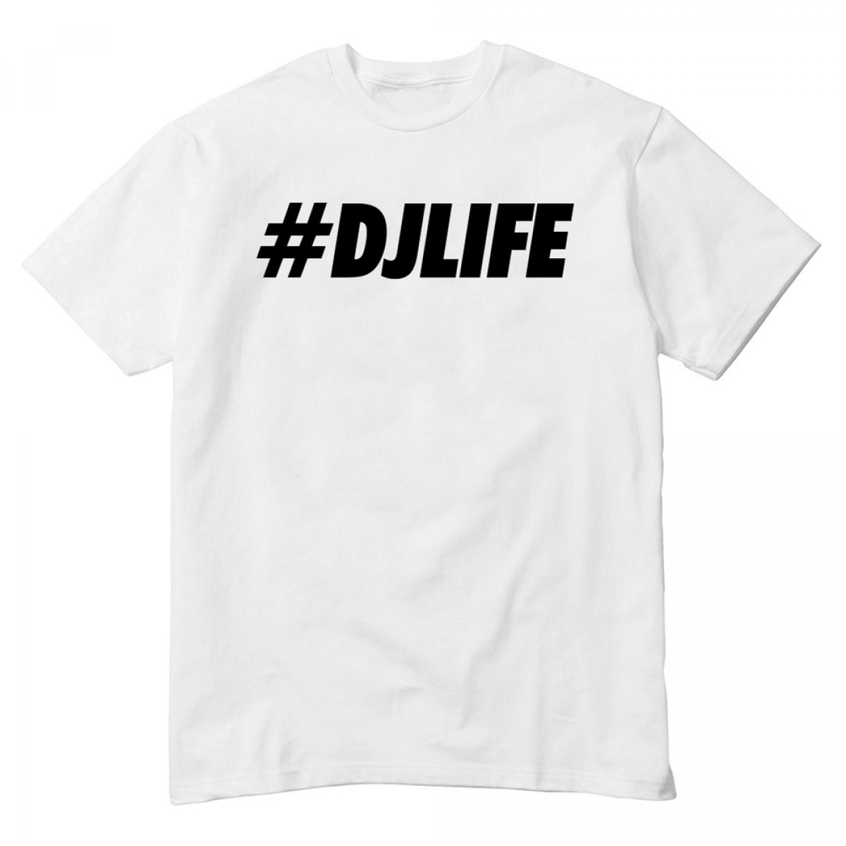 8c2ad1bc9255 DJ tshirt  DJ Life. back