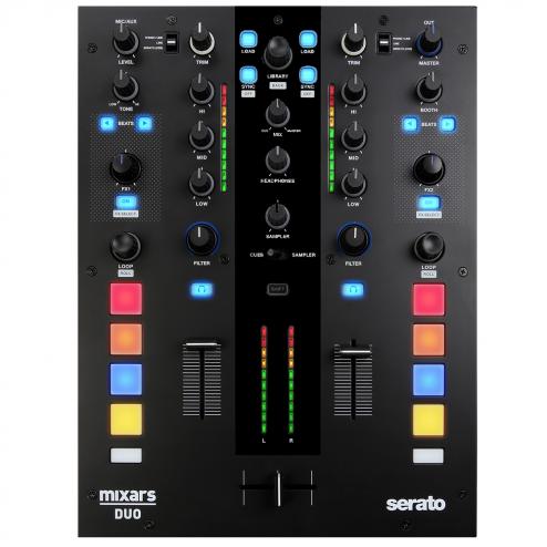 Mixars Duo MkII Serato DJ Mixer controller Galileo Essential Crossfader