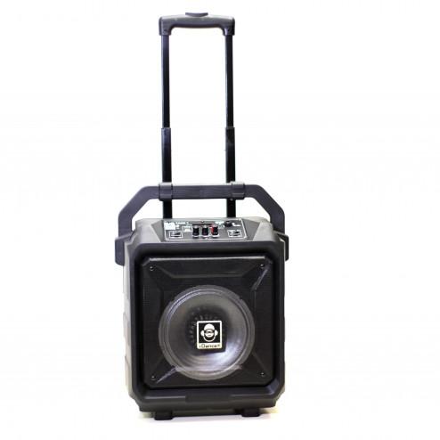 iDance Blue Tank BT-1 φορητό ασύρματο ηχοσύστημα με επαναφορτιζόμενη μπαταρία, μικρόφωνο, bluetooth, usb, Mp3 FM (ραδιόφωνο) και εγγραφή σε USB