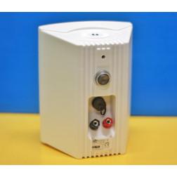 """Power Dynamics WS40A ασύρματα WiFi και Bluetooth αυτοενισχυόμενα ενεργά ηχεία 4"""" ισχύος 200W σε λευκό με Τηλεχειριστήριo"""