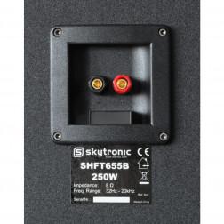 "SkyTronic SHFT655B HiFi Home Cinema Ζεύγος Ηχείων 3 δρόμων 2 x 8"", 1 x 6,5"" ισχύος 250 Watt"