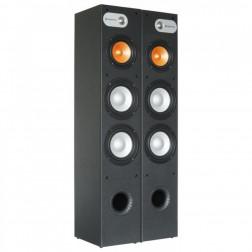 SkyTronic Πλήρες Hi-Fi πακέτο ήχου με Ενισχυτή USB + Ηχεία + Καλωδιώσεις