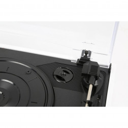 Fenton RP108W Retro Πικάπ με Ενσωματωμένα Ηχεία Αναπαραγωγής Δίσκων Βινυλίου τύπου Belt Drive με USB recording σε λευκό