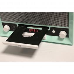 Fenton RP135 Retro Vintage 60's Πικάπ με Ενσωματωμένα Ηχεία Αναπαραγωγής Δίσκων Βινυλίου τύπου Belt Drive με USB player recording, Ραδιόφωνο, Bluetooth και CD player