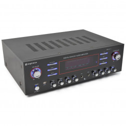 SkyTronic AV-340 Surround καραόκε ενισχυτής 5 καναλιών ισχύος 2 x 180W με USB MP3