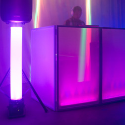 American Audio Magna Tube πλαστικός σωλήνας με μαγνήτες ιδανικός για Mobile DJs