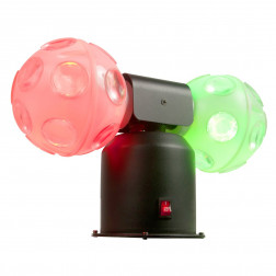 American Audio Jelly Cosmos Ball με περιστρεφόμενες μπάλες που διαθέτουν LED RGB και strobe