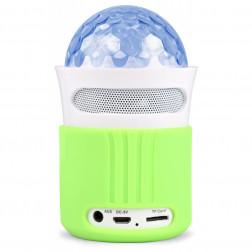 Max MX2 Φορητό ηχείο με Bluetooth, ραδιόφωνο FM, disco Jellyball εφέ και επαναφορτιζόμενη μπαταρία