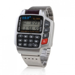 Calculator & Remote Control retro Watch
