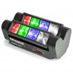 BeamZ MHL820 Double Helix επαγγελματκή κινούμενη κεφαλή φωτισμού με διπλό έλικα 8x 3W RGBW LEDs DMX