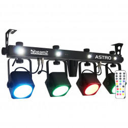 BeamZ Professional LED ASTRO PARBAR 4-Way Kit 4x 10W COB DMX