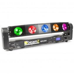 BeamZ MHL510 επαγγελματκή κινούμενη κεφαλή Color Sweeper 5x 10W Quad LED