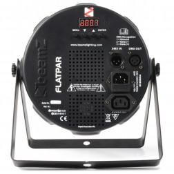 BeamZ FlatPAR 186x 10mm RGBW LEDs DMX IRC