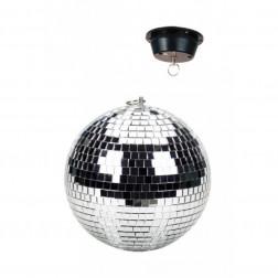 "BeamZ Mirror Disco ball Ντισκομπάλα με μοτέρ 12"" 30 εκατοστών για πάρτυ, εκδηλώσεις και επαγγελματικούς χώρους"