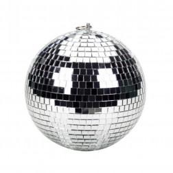 "BeamZ Mirrorball, 20cm, 900g Discoball Ντισκομπάλα κρεμαστή 8"""