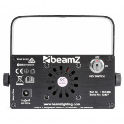 BeamZ Bianca διπλό laser 330mW RGB Gobo IRC με τηλεχειριστήριο