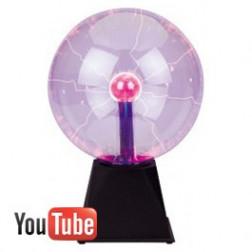 Beamz Plasma Ball 20 cm μπάλα πλάσματος εφέ φωτισμού