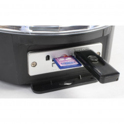 Max Magic Jelly DJ Ball Αυτόνομο Φωτορυθμικό με Ηχείο και Mp3 player 6x 1W LEDs SD/USB/MP3
