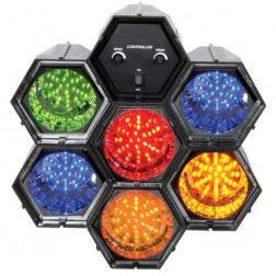 BeamZ Linkable LED light effect with 6 light pods