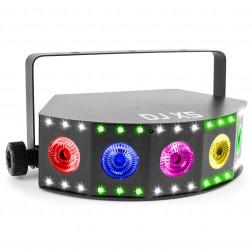 BeamZ DJ X5 Strobe LED Array Φωτορυθμικό με strobe και ασύρματο τηλεχειριστήριο για πάρτυ, εκδηλώσεις και εγκαταστάσεις φωτισμού