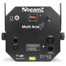 Φωτορυθμικό BeamZ MultiAcis IV LED με επιπλέον εφέ laser και strobe