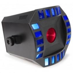Beamz Cube4 2x10W Quad LED+64 RGB LED DMX display