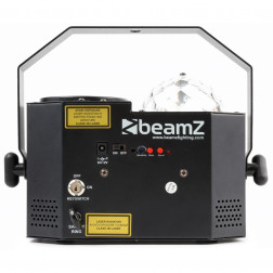 BeamZ Sway LED Jellyball με Laser, LED Organ και ασύρματο Τηλεχειριστήριο