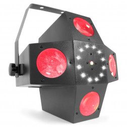 BeamZ Multitrix LED Φωτορυθμικό με laser, strobe και ασύρματο τηλεχειριστήριο για πάρτυ, εκδηλώσεις και εγκαταστάσεις φωτισμού