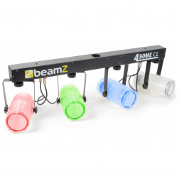 Beamz 4-Some Light Set 4x 57 RGBW LEDs DMX Clear